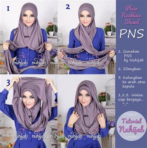 tutorial jilbab hodie tutorial hijab modern hoodie style terkini 2016