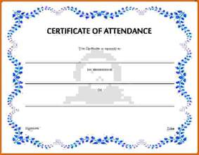 Certification Letter Of Attendance Certificate Of Attendance Templatereference Letters Words Reference Letters Words