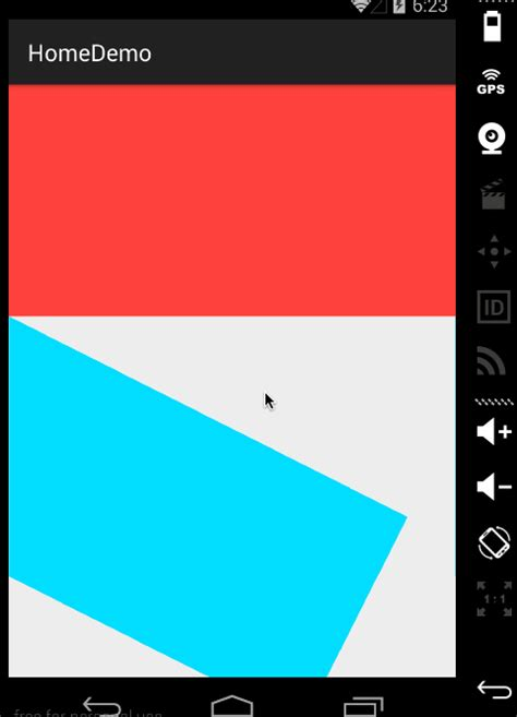 android layout flip animation exle android how can i use property animation to rotate view