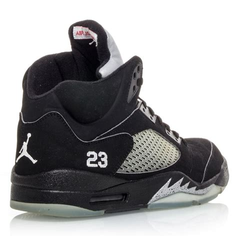 mens air retro 5 basketball shoes air 5 retro mens basketball shoes black metal