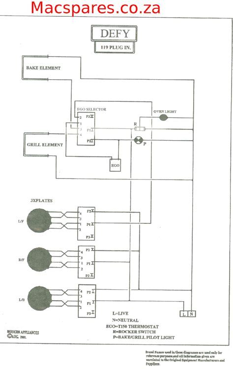 wiring diagram for kitchen appliances choice image