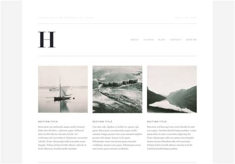 Squarespace Sites Web Design Pinterest Squarespace Website Templates