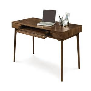 Small Desk Chairs Catalina Walnut Desk Home Office Furniture For Small
