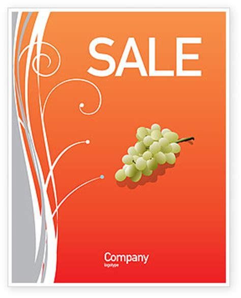 poster template publisher free bottle of wine sale poster template in microsoft word