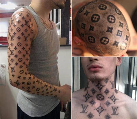 louis vuitton tattoo sleeve memes