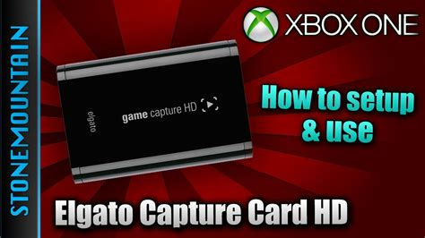 how to make a capture card how to use elgato capture card hd on xbox one best way