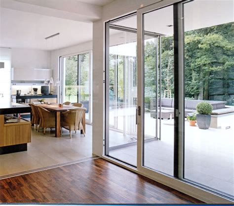 Glass Patio Sliding Doors White Patio Aluminium Sliding Door With Glass