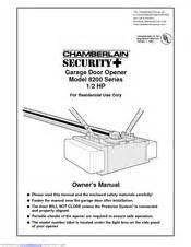 chamberlain 8200 1 2 hp manuals