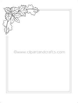 leaf border coloring pages printable coloring book pages leaves border paper to color