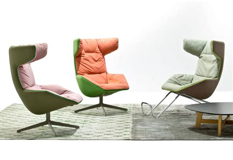 M And S Armchairs Take A Soft Line For A Walk Easy Chair By Moroso Stylepark