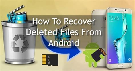 how to recover deleted files on android without computer how to recover deleted files from android in 4 easy steps