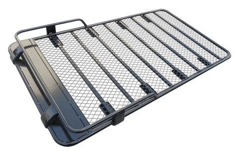 toyota landcruiser 100 series steel roof top tent rack ebay