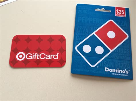 buy 25 domino s gift card get 5 target gift card passionate penny pincher - Dominoes Gift Card