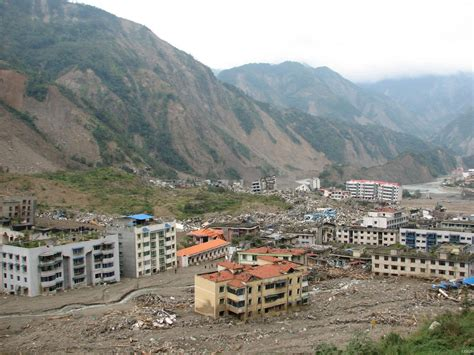 earthquake china damage from 2008 great sichuan earthquake in china