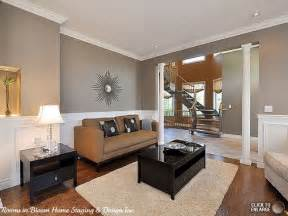 Grey And Brown Living Room Brown In Gray Room