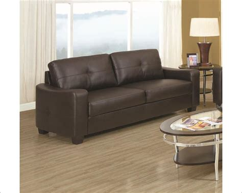 coaster leather sofa co 5027 s