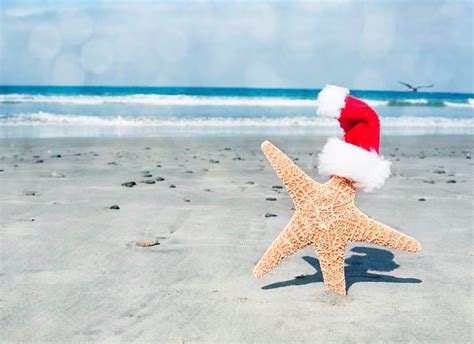 christmas pictures on the beach wallpapers9