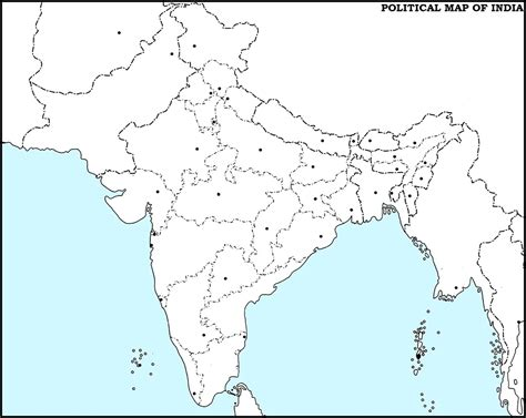 An Outline Political Map Of India by Indian Map Blank Cake Ideas And Designs