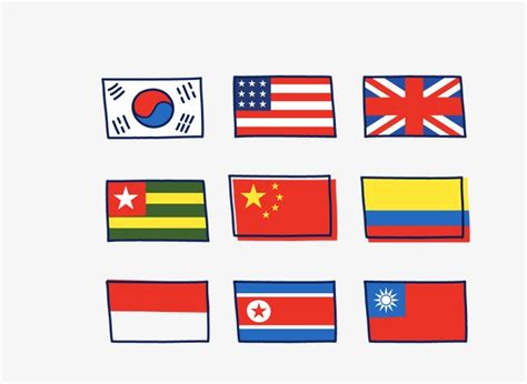 Country Flags To Color by Country Flags To Color Image Collections Diagram Writing