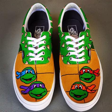 mutant turtles custom vans shoes
