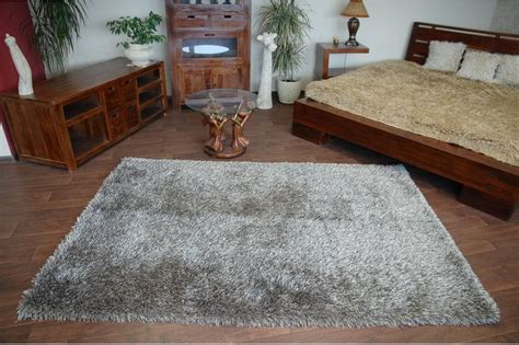 teppich taupe amazing soft thick rug shaggy polyester 6cm high