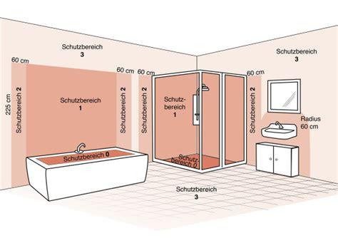 Elektroinstallation Badezimmer by Die Schutzbereiche Im Bad Leuchten Sicher Installieren