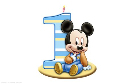 baby mickey mouse 1st birthday clip clipart panda free clipart images