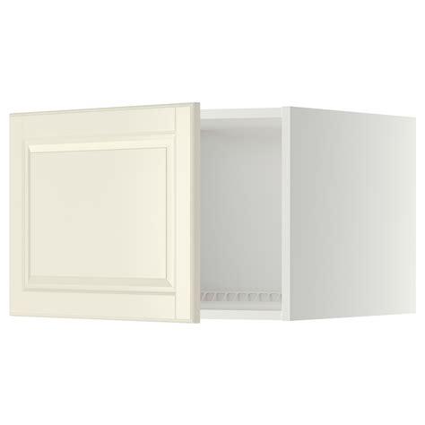 metod top cabinet to fridge freezer white bodbyn white