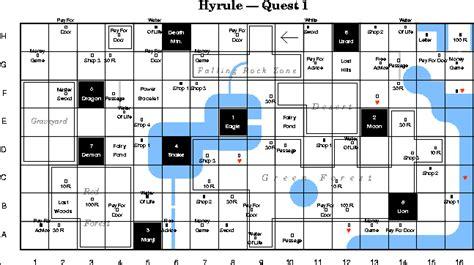 legend of zelda nes map grid image the legend of zelda overworld grid map png