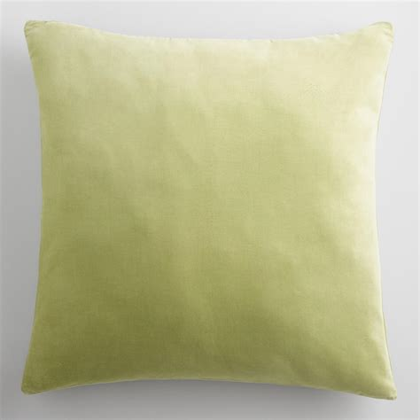Green Velvet Throw Pillows by Green Velvet Throw Pillow World Market
