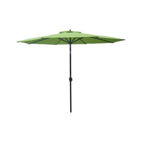 hton bay 9 aluminum market umbrella green the