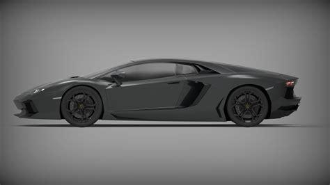 Lamborghini 3d Model Free by Lamborghini Aventador Free 3d Model Obj Cgtrader
