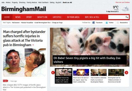 Birmingham Mail Section by Birmingham Mail Unveils New Look Website Journalism News