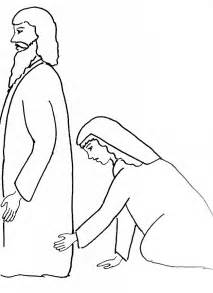 free coloring pages of samaritan woman at well