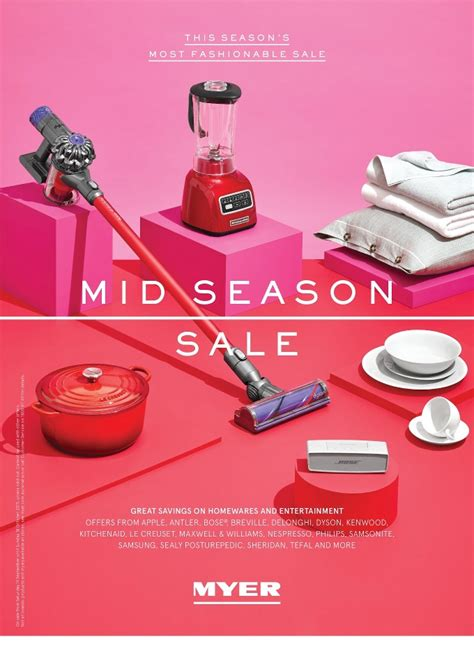 myer catalogue mid season sale october 2015