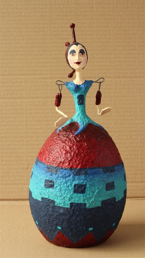 How To Make A Paper Mache Doll - 107 best images about paper mache on cats