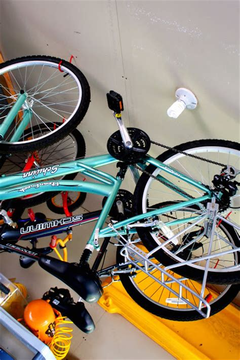hang bike from ceiling iheart organizing may featured space outdoors garage