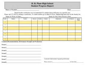 high school progress report template search results for sle student progress report images