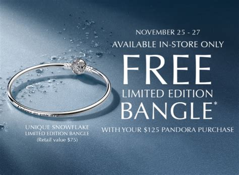 Free Limited Edition Pandora Bangle With Purchase! ? Ecolin Jewelers