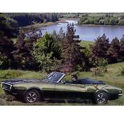 1968 Pontiac Firebird Sprint Convertible 2367 Muscle