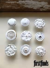 9 misfit knob set shabby chic white vintage furniture