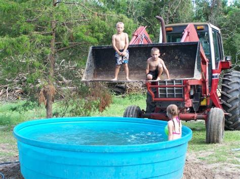 what love can do our redneck swimming pool