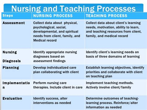 teaching plan template for nurses client education moodle