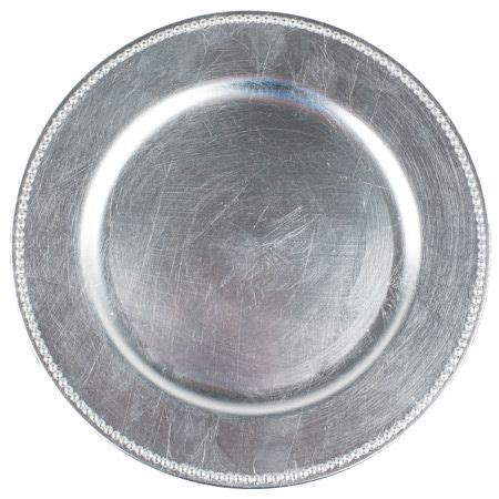 silver beaded charger plates silver beaded charger plates