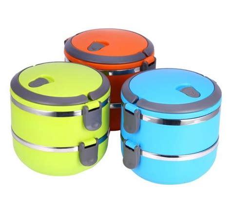 Promoo Lunch Box Kotak Makan Bekal Rantang 4 Susun Stainless 3 W jual beli lunch box stainless 2 susun rantang kotak makan