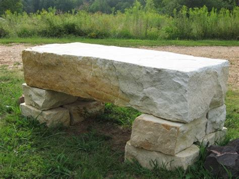 rock benches for garden popular diy garden benches you can build it yourself