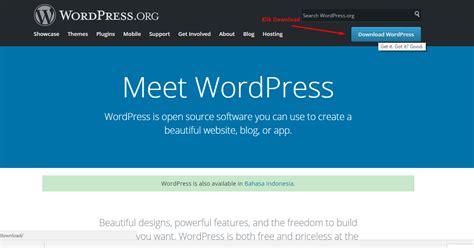 cara membuat website menggunakan wordpress cara membuat website menggunakan wordpress bewok tekno