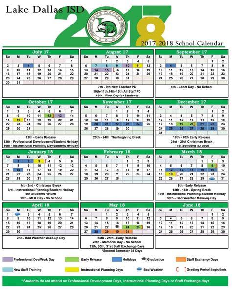 printable version pdf starkey kelsey ldisd calendar 17 18