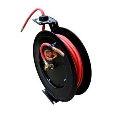 speedway 50 ft retractable air hose reel 7640 the home