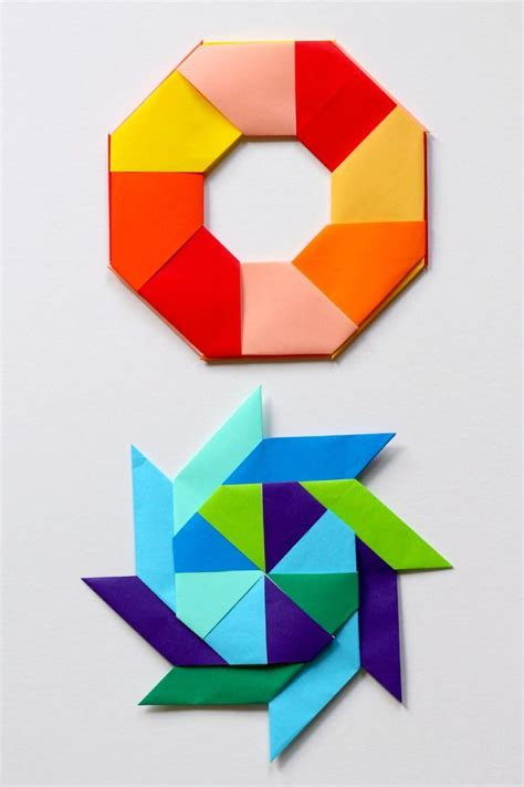 maths origami best 25 geometric origami ideas on origami